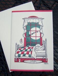 girl&bed.jpg sandi christmas cards