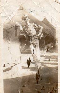 dad navy standing