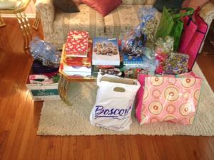 Amy's gifts Secret Santa