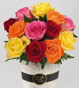 Simply-Cheerful-Mixed-Rose-Bouquet_top-ftd-flower-bouquets