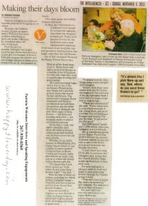 Article in Intelligencer about Flower Project