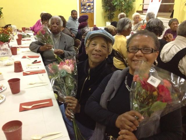 ladies at salem baptist senior center